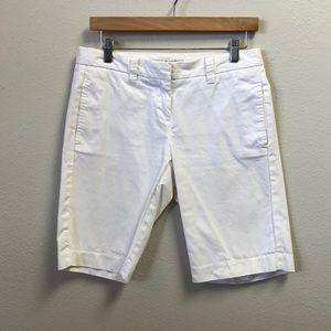 Tommy Hilfiger White Bermuda Shorts Size 4